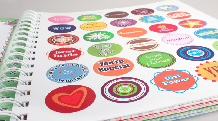girl scouts stickers